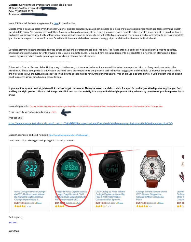 amazon-gratis-orologio-email